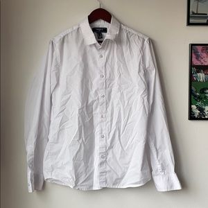 Forever 21 Slim Fit Button Down Shirt